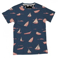 Nautical Rockets Classic All Over Print Tshirt by Youreyeslie.com Online store> Shop the collection