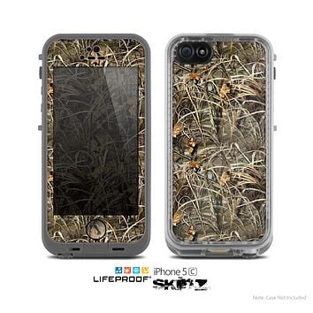 The Real Woods Max Camouflage Skin for the Apple iPhone 5c LifeProof Case