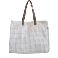Carryall Tote - Woven Grey