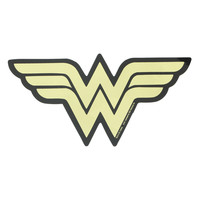 DC Comics Wonder Woman Gold Foil Sticker