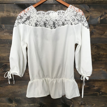 Another Love Chiffon Top