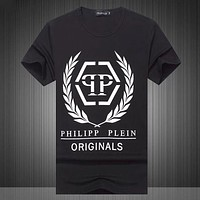 Boys & Men Philipp Plein Fashion Casual Shirt Top Tee