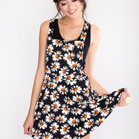 Daisy Me Up Overall Dress