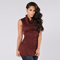 EV 25 Fairy Store Hot Selling Drop Shipping Sexy Knitted Long Pullover Sleeveless Casual Sweater Women Autumn Winter Tops