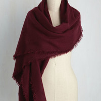 Moxie at the Movies Scarf in Merlot | Mod Retro Vintage Scarves | ModCloth.com