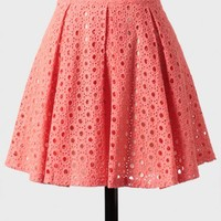 miss lucy eyelet skirt at ShopRuche.com