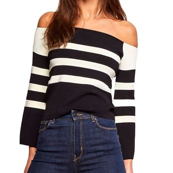 Alexandrine Off-the-Shoulder Top