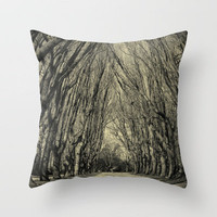 where the trees still whisper Throw Pillow by ingz | Society6