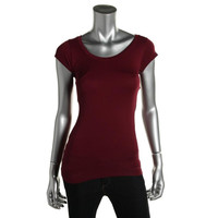 Sugarlips Womens Stretch Seamless Pullover Top