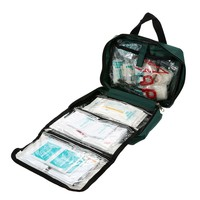NEW Handy First Aid Kit Bag 62PCS Safe Travel Outdoor Survival Camping Hiking Medical Emergency Rescue Kit Treatment Pack Set