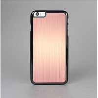 The Rose Gold Brushed Surface Skin-Sert for the Apple iPhone 6 Plus Skin-Sert Case