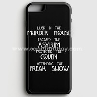 American Horror Story Cover iPhone 6/6S Case | casefantasy