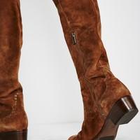 Free People Cara Eyelet Over The Knee Boot