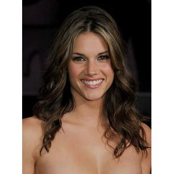 Missy Peregrym Portrait poster Metal Sign Wall Art 8in x 12in
