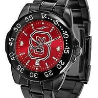 North Carolina Wolfpack Mens Watch Fantom Gunmetal Finish