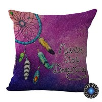 Romantic Dream Catcher Cushion Covers