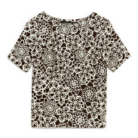 Floral-Print Wool-Blend Top by Thakoon - Moda Operandi