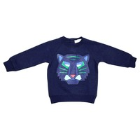 Stella McCartney Baby Boys Navy Blue Tiger Sweatshirt