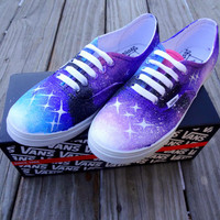 Galaxy Vans Shoes by UrbanRags on Etsy