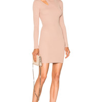 A.L.C. West Dress in French Taupe   FWRD