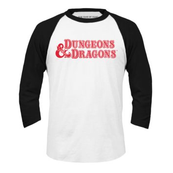 FOR FANS BY FANS:Retro D&D Baseball Tee