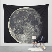 Moon Wall Tapestry by Subnetwork