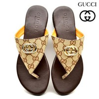GUCCI Women's Trendy Stylish Sandals Slippers F