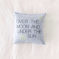 Amber Ibarreche X UO Over The Moon Throw Pillow | Urban Outfitters