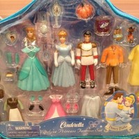 Disney Parks Cinderella w/ Prince Charming Deluxe Princess Fashion Set - Disney Parks Exclusive & Limited Availability