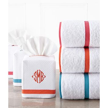 Surrey II Tissue Box Cover by Legacy Home