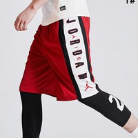 JORDAN Summer Fashion Men Casual Print Running Sport Shorts 1#