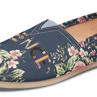 Floral Science Casual Shoes