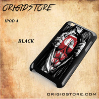 Superman Blood Open Cloth Snap on 2D Black and White Or 3D Suitable With Image For Ipod Touch 4 Case