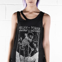 Abuse Of Power Vest