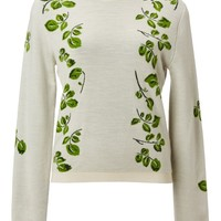 Orley Falling Leaf Crewneck