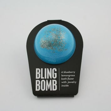 The Bling Bomb, Bath Bomb, Bath Fizzer, Bath Fizzie, Surprise Inside, Bath and Body