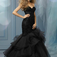 2014 New Long Mermaid Evening Ball Gown Formal Prom Party Gown Wedding Dresses