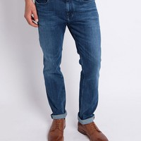 Calvin Klein Jeans Slim Straight Jean Blue - SALE at The Idle Man