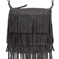 Madden Girl Fringe Crossbody Purse