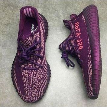 Adidas Yeezy 550 Boost 350 V2 men and women tide personality casual sports shoes F
