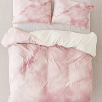 Chelsea Victoria For DENY Rose Gold Marble Duvet Cover | Urban Outfitters