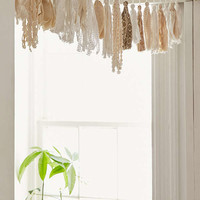 Plum & Bow Tassel Garland Banner | Urban Outfitters