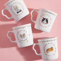Thank Meow Later Mug Set