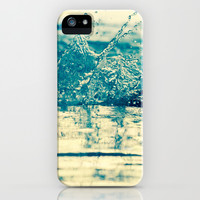 Water in Motion iPhone & iPod Case by Beth Thompson