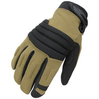 Stryker Padded Knuckle Glove Color- Coyote-Black