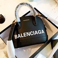 BALENCIAGA Fashion Women Shopping Leather Handbag Tote Crossbody Satchel Shoulder Bag Black