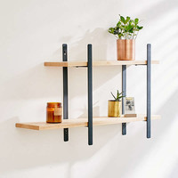 Anton Double Wall Shelf | Urban Outfitters
