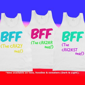 The Crazies - Sold individually, take your pick! See More Matching BFF Tees, Sweaters & Hoodies in the 'Best Friends' Collection!