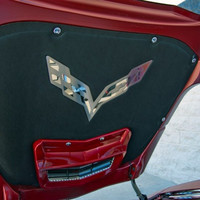 C7 Corvette American Car Craft Hood Emblem