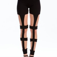 Use The Ladder Cut-Out Leggings